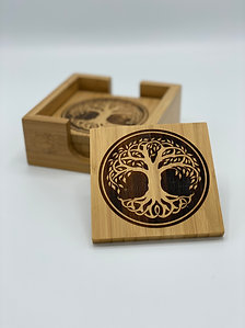 Celtic Tree Of Life Coaster set