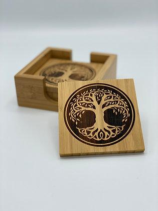 Celtic Tree Of Life Coaster set