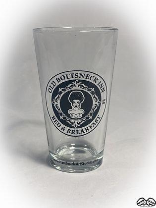 Old Boltsneck Inn Pint Glass
