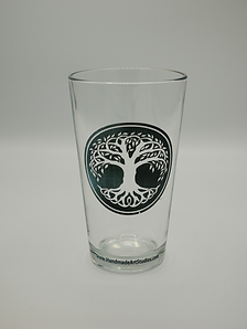 Celtic Tree Of Life Pint Glass