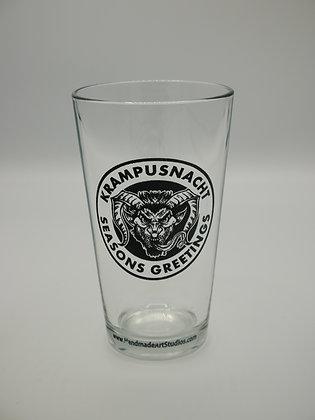 Krampus Pint Glass