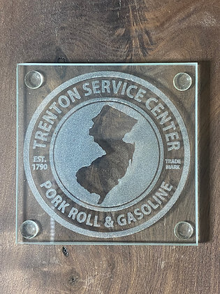 Pork Roll & Gasoline Coaster Set