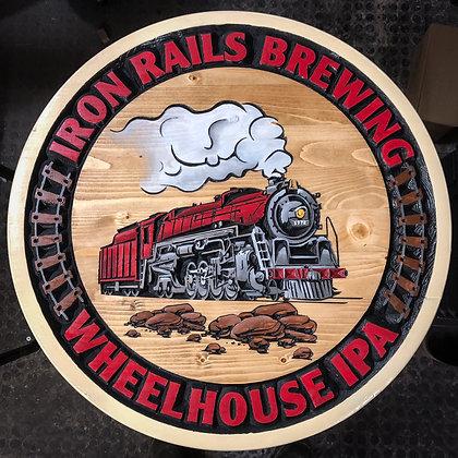 Iron Rails Brewing Wall Art
