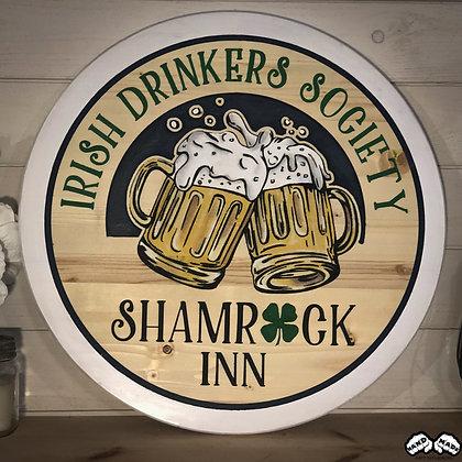 Irish Drinkers Wall Art