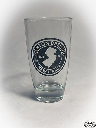 Trenton Brewing Pint Glass