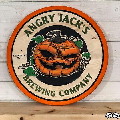 Angry Jacks Brewing Wall Art