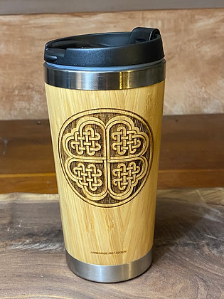 Celtic Clover Of Life Tumbler