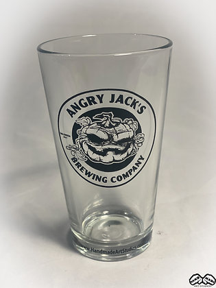 Angry Jacks Brewing Pint Glass