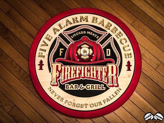 Five Alarm BBQ Wall Art