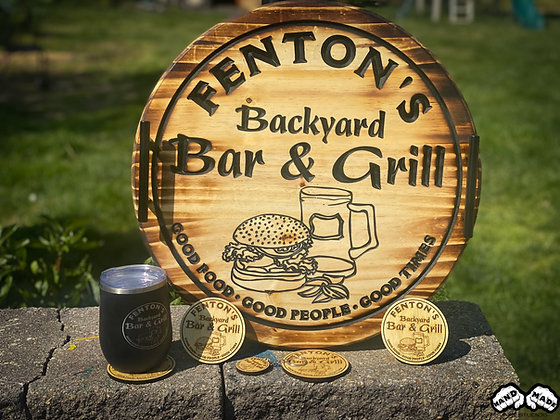 Backyard Bar & Grill - Personalize