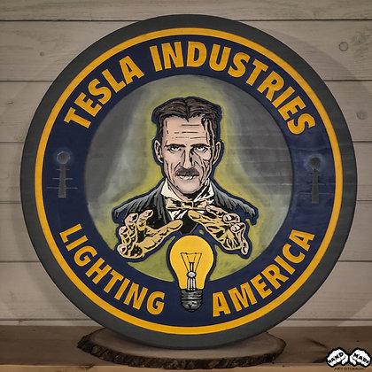 Tesla Wall Art