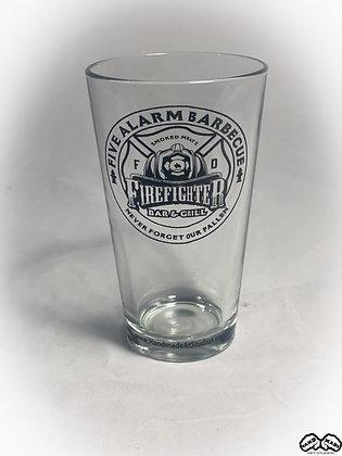 Five Alarm BBQ Pint Glass