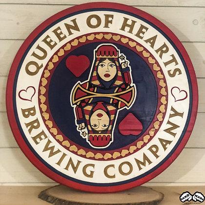 Queen Of Hearts Wall Art