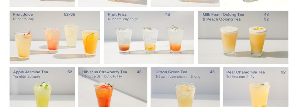 Drinks menu.