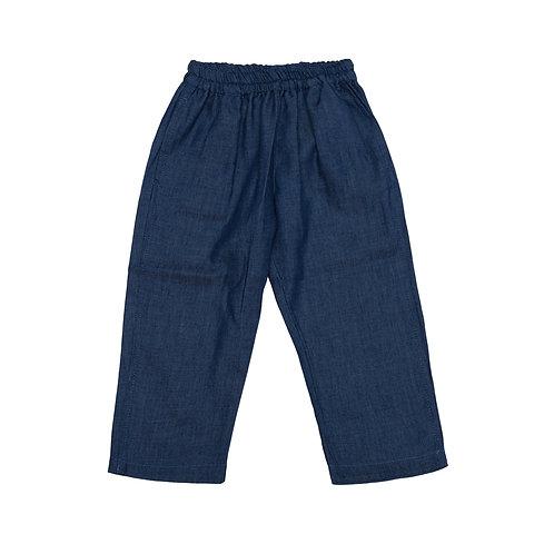 Pantalón cereza denim navy