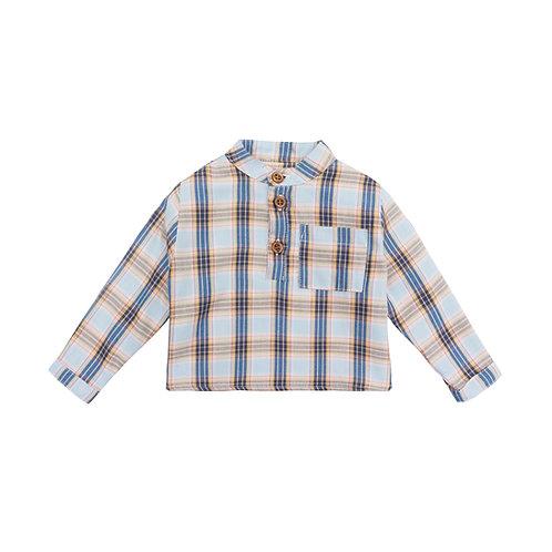 Camisa Bon cuadros azules