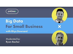 Big data for small businesses