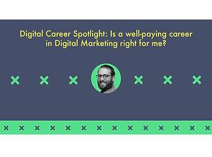 Building a digital marketing career