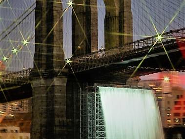 Brooklyn Bridge Waterfall
