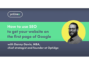 How to use SEO to get your website onto the first page of Google