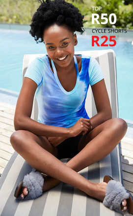 CYCLE SHORTS R25 _ TOP R50