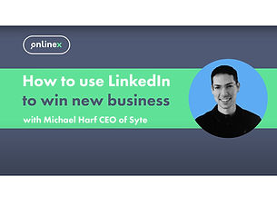 Using LinkedIn to win new business