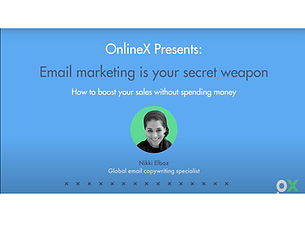 Email marketing is your secret weapon