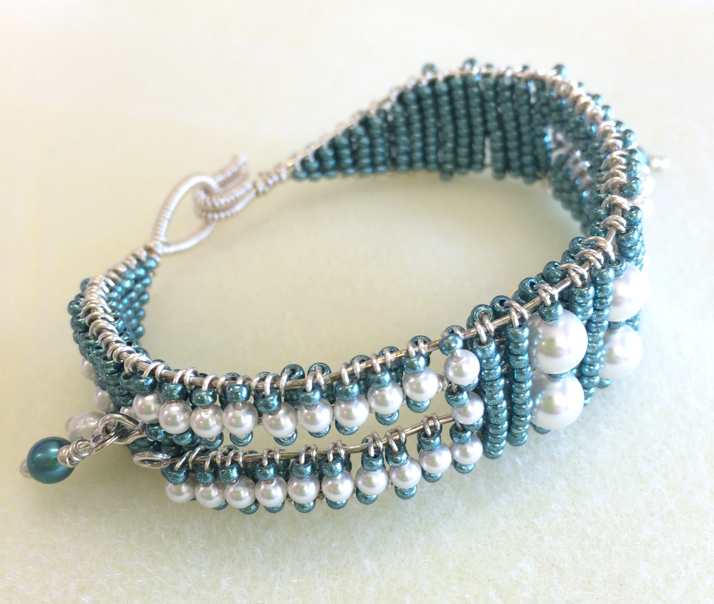 Sea Spray: Sterling Silver & Pearl