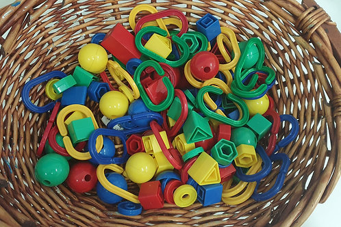 Assorted Toy Parts