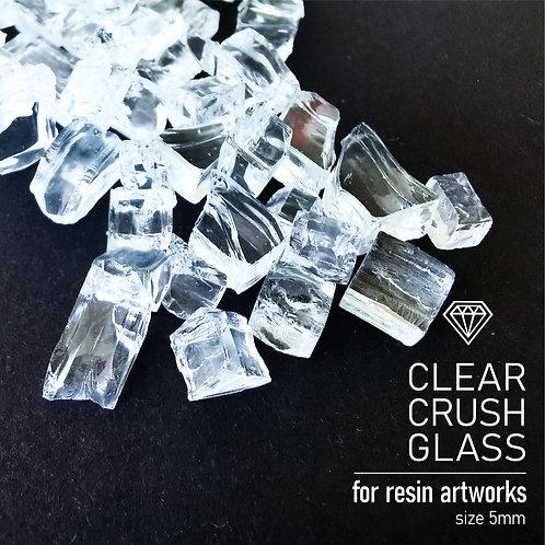 Стеклянная крошка ClearCrushGlass