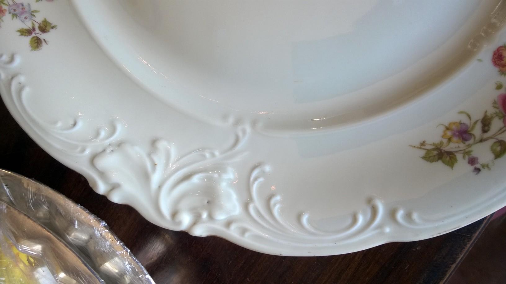 Prato Porcelana Polonesa
