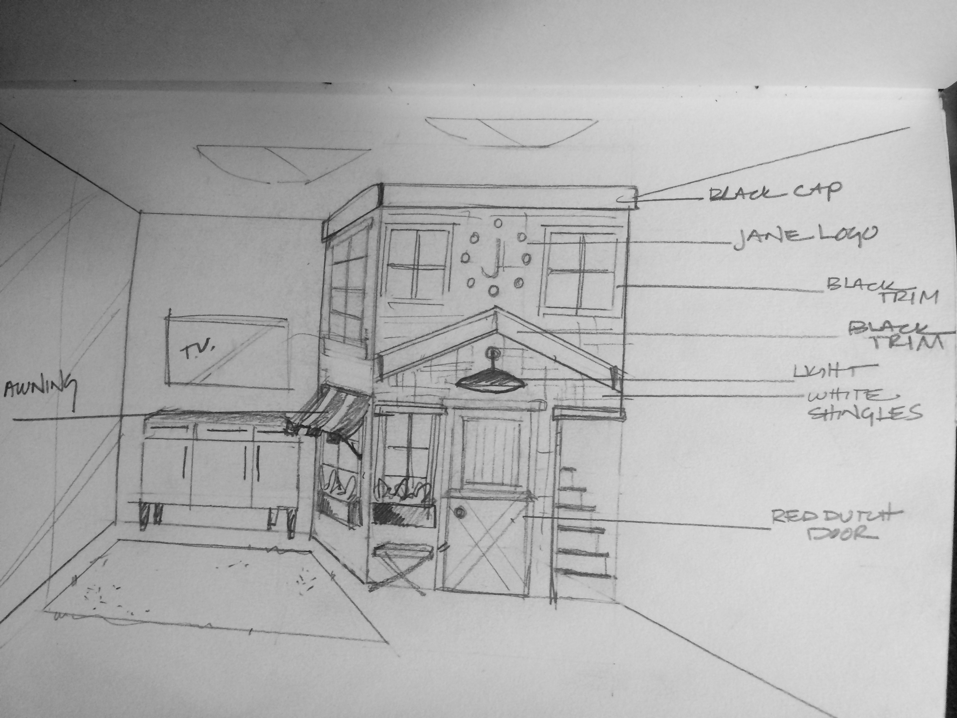 PLAYHOUSE SKETCH