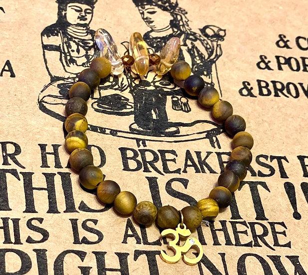 Tiger eye & Citrine Bracelet
