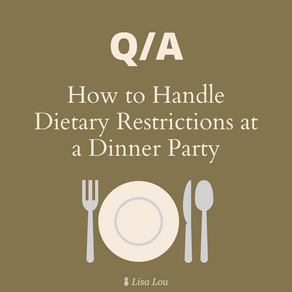 How to Handle Dietary Restrictions at a Dinner Party