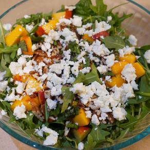 Peach & Feta Salad