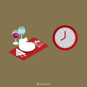Timing of Food at a Dinner Party