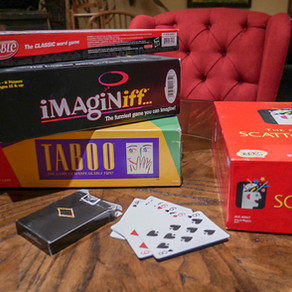 February Game Night and Casino Party Idea