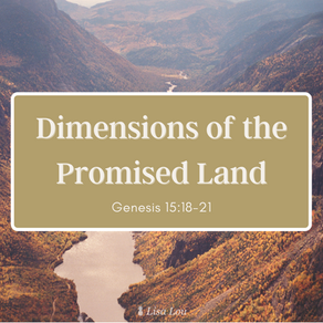 Dimensions of the Promised Land