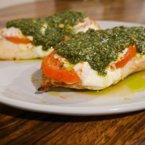 Easy Air-Fried Chicken Caprese