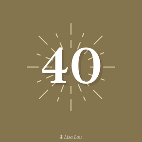The Number 40
