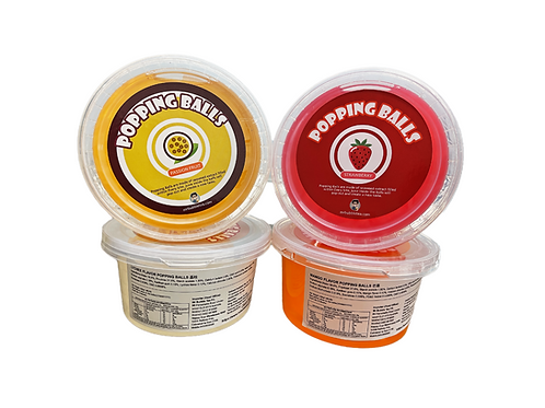 Popping Ball Party Pack(490g*4)
