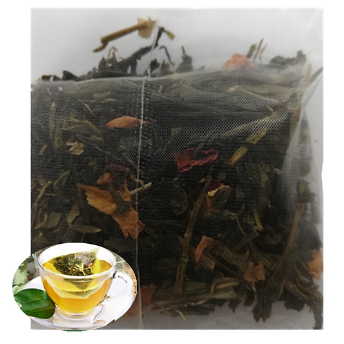 Rose Green Tea (Oil Cut Green Tea) (9g*50pcs)