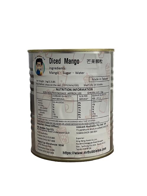 Diced Mango Can 1kg