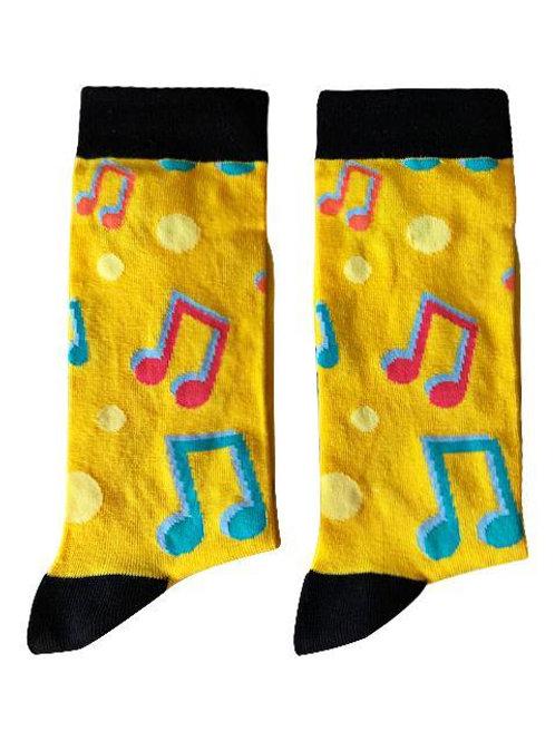 Socks - Music Notes