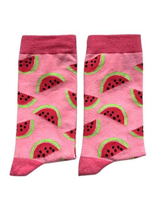 Socks - Waermelon, Pink