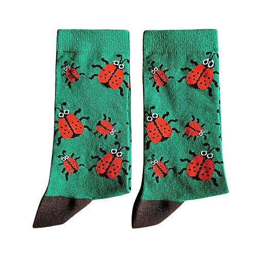Socks - Ladybug