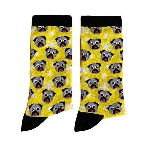 Socks - Dog, Yellow [Size: XS]