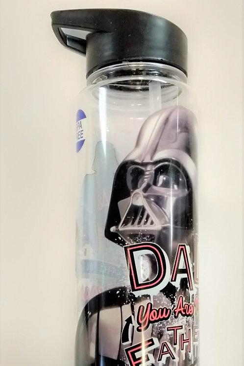 Plastic Water Bottle - Darth Vador