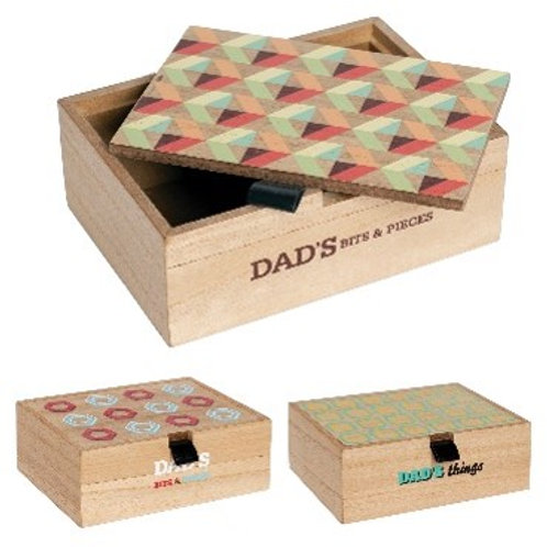 Wooden Bits & Pieces Box