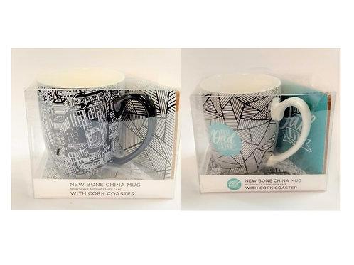 Mug & Coaster Set - 2